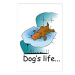Dog's Life Postcards (Package of 8)