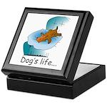 Dog's Life Keepsake Box