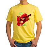 kuuma music 1 Yellow T-Shirt