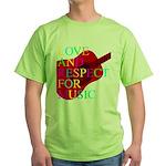 kuuma music 1 Green T-Shirt
