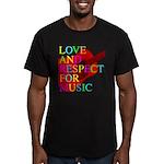 kuuma music 1 Men's Fitted T-Shirt (dark)