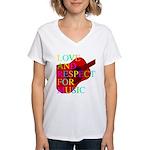 kuuma music 1 Women's V-Neck T-Shirt
