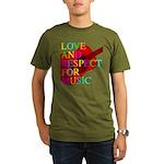 kuuma music 1 Organic Men's T-Shirt (dark)