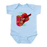 kuuma music 1 Infant Bodysuit