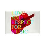 kuuma music 1 Rectangle Magnet (10 pack)