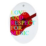 kuuma music 1 Ornament (Oval)