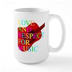 kuuma music 1 Large Mug