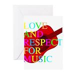 kuuma music 1 Greeting Cards (Pk of 10)
