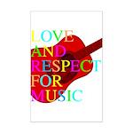 kuuma music 1 Mini Poster Print