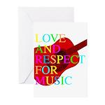 kuuma music 1 Greeting Cards (Pk of 20)