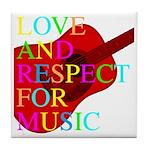 kuuma music 1 Tile Coaster