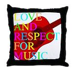 kuuma music 1 Throw Pillow