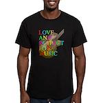 kuuma music 2 Men's Fitted T-Shirt (dark)