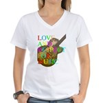 kuuma music 2 Women's V-Neck T-Shirt
