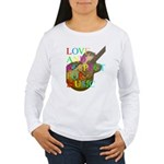 kuuma music 2 Women's Long Sleeve T-Shirt
