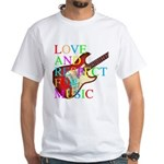 kuuma music 3 White T-Shirt