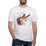 kuuma music 3 Fitted T-Shirt