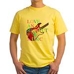 kuuma music 3 Yellow T-Shirt