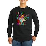 kuuma music 3 Long Sleeve Dark T-Shirt