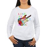 kuuma music 3 Women's Long Sleeve T-Shirt