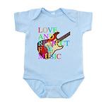 kuuma music 3 Infant Bodysuit