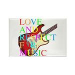 kuuma music 3 Rectangle Magnet (100 pack)