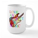 kuuma music 3 Large Mug