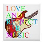 kuuma music 3 Tile Coaster