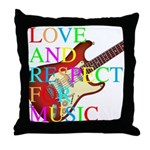 kuuma music 3 Throw Pillow
