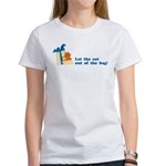 Let The Cat Out Women's T-Shirt