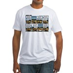 2L0056 - A quick decision Fitted T-Shirt