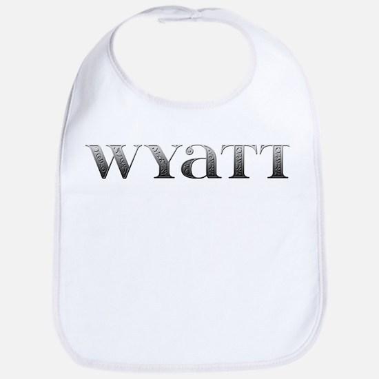 Wyatt Carved Metal Bib