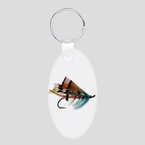"""""""Fly 2"""" Aluminum Oval Keychain"""