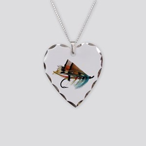 """""""Fly 2"""" Necklace Heart Charm"""