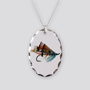 """Fly 2"" Necklace Oval Charm"