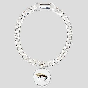 """""""Fly 1"""" Charm Bracelet, One Charm"""
