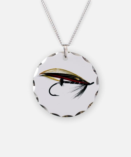 """""""Fly 1"""" Necklace Circle Charm"""