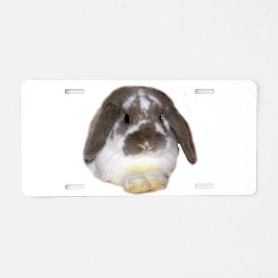 """Bunny 1"" Aluminum License Plate"