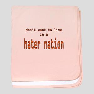 hater nation baby blanket