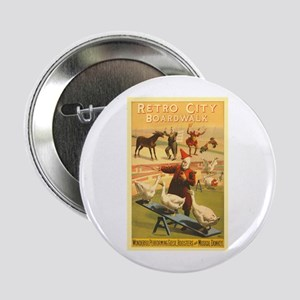 """The Musical Donkey 2.25"""" Button"""