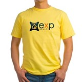 Exp realty Mens Classic Yellow T-Shirts