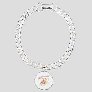 Bridesmaid Charm Bracelet, One Charm