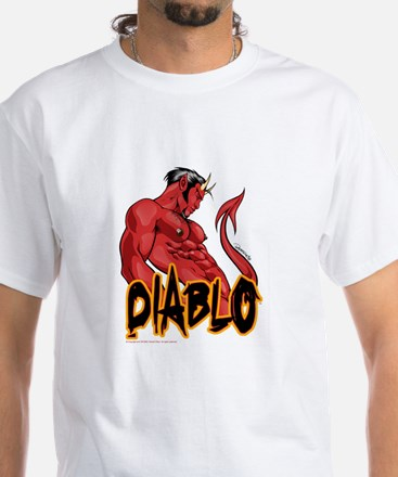 Diablo White T-Shirt