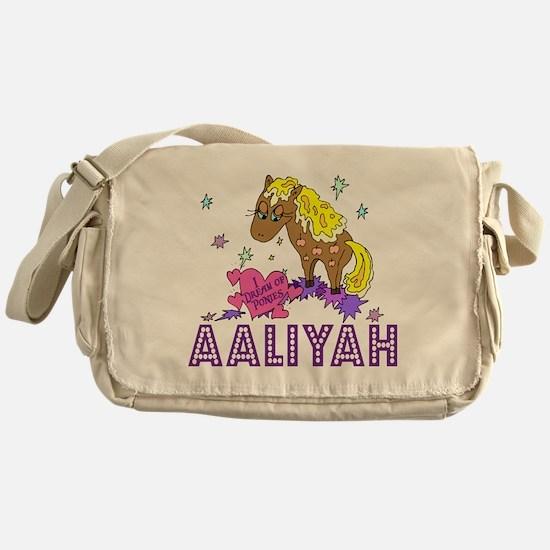 Cute Aaliyah Messenger Bag