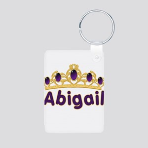 Princess Tiara Abigail Person Aluminum Photo Keych