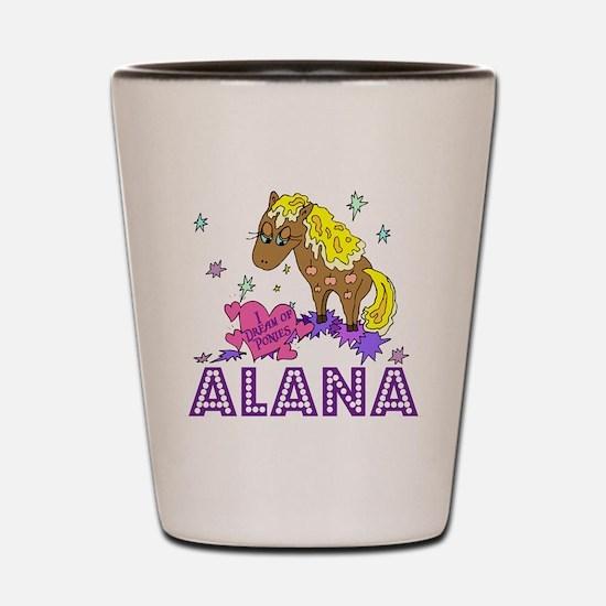 I Dream Of Ponies Alana Shot Glass