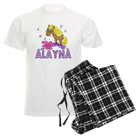 I Dream Of Ponies Alayna Men's Light Pajamas