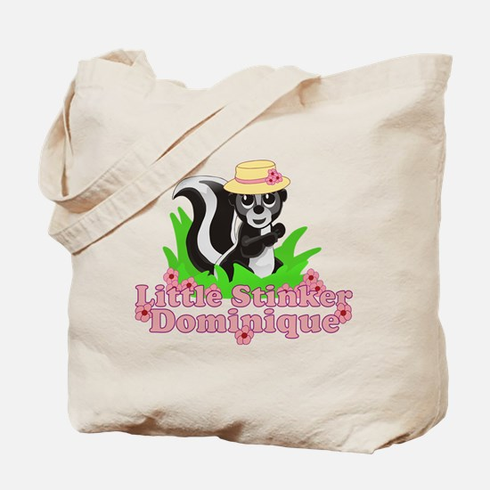 Little Stinker Dominique Tote Bag