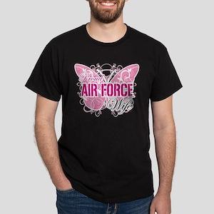 Proud Air Force Wife Dark T-Shirt