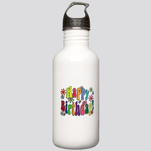 Happy Birthday Stainless Water Bottle 1.0L